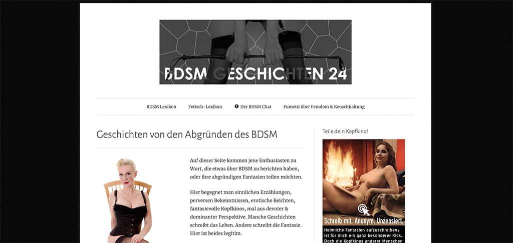 Femdom und Spanking ist ein großer Bestandteil von BDSM-Geschichten24