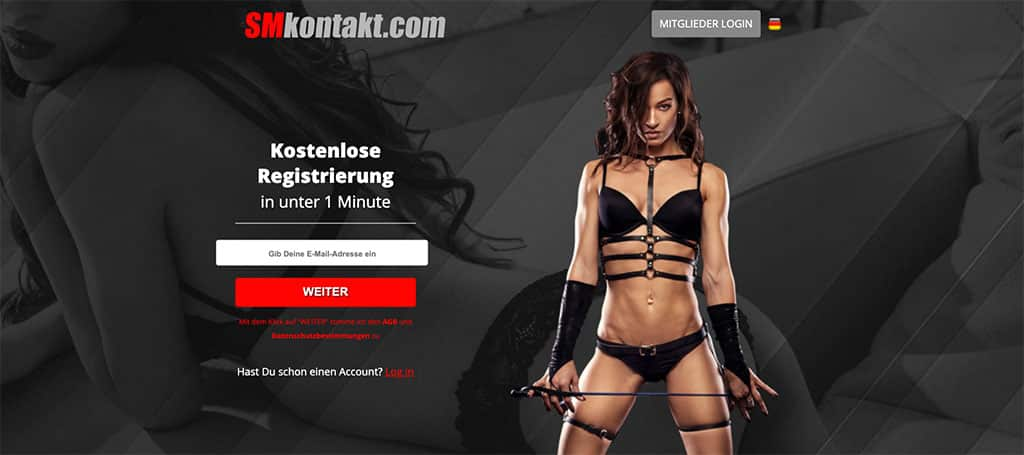 BDSM Treffen, Bontage Treffen, SM Kontakte und mehr gibts auch bei SMKontakt.com